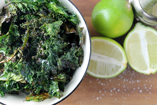 Hint of Lime Kale Chips