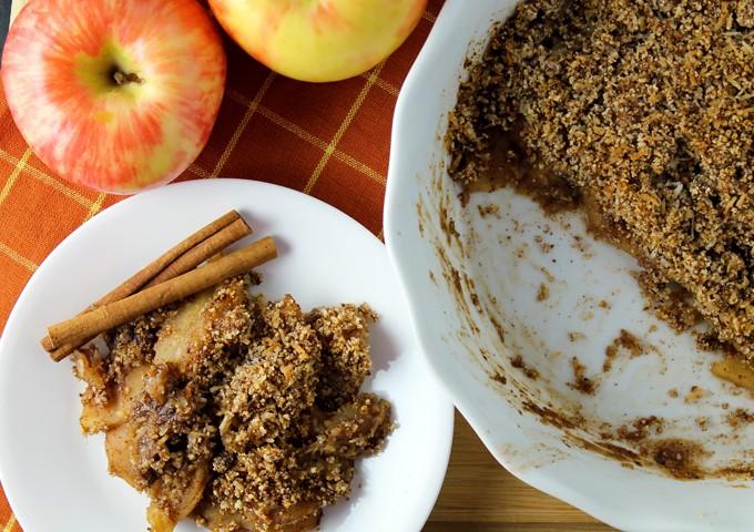 Gluten Free Apple Cobbler