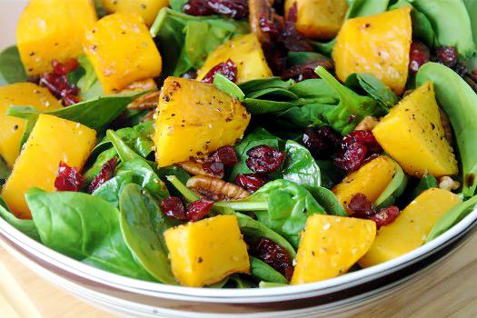 Autumn Butternut Squash Salad