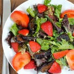 Balsamic Strawberry & Fig Salad