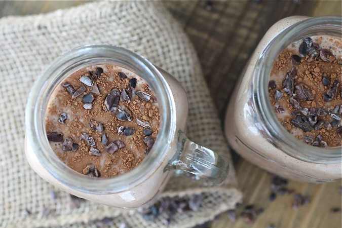 Chocolate Almond Butter Shake