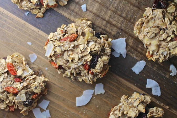 Oat and Banana Breakfast Cookies