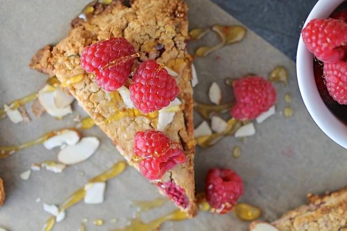 Gluten Free Raspberry Scones