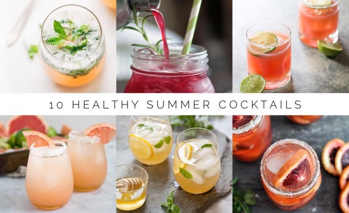 10 Healthy Summer Cocktails