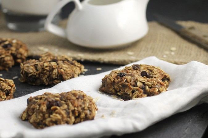 Oatmeal Carrot Cake Cookies