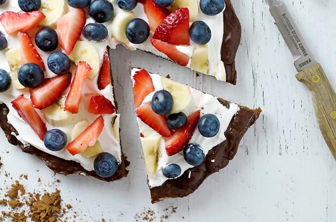 Gluten Free Brownie Pie