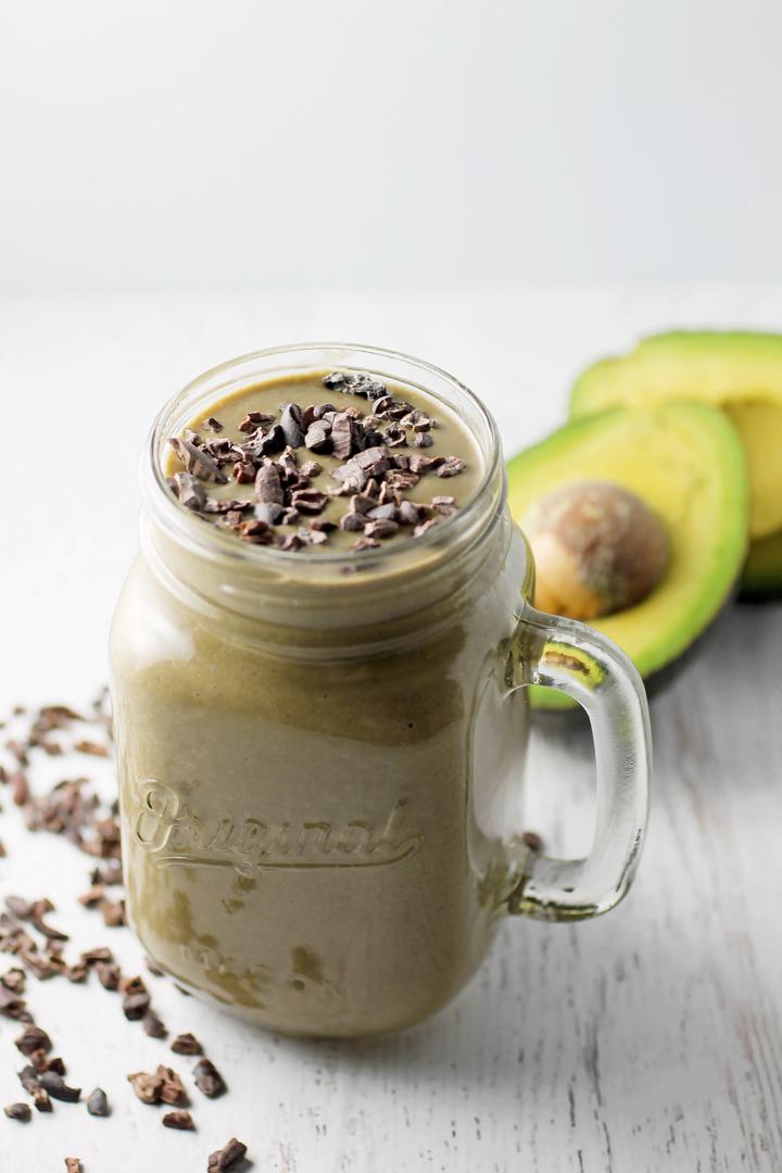 Three Ingredient Creamy Chocolate Shake