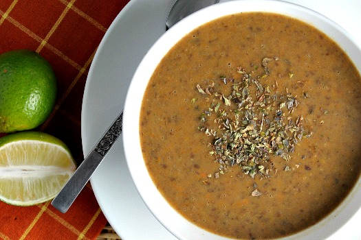 Chipotle Black Bean Bisque