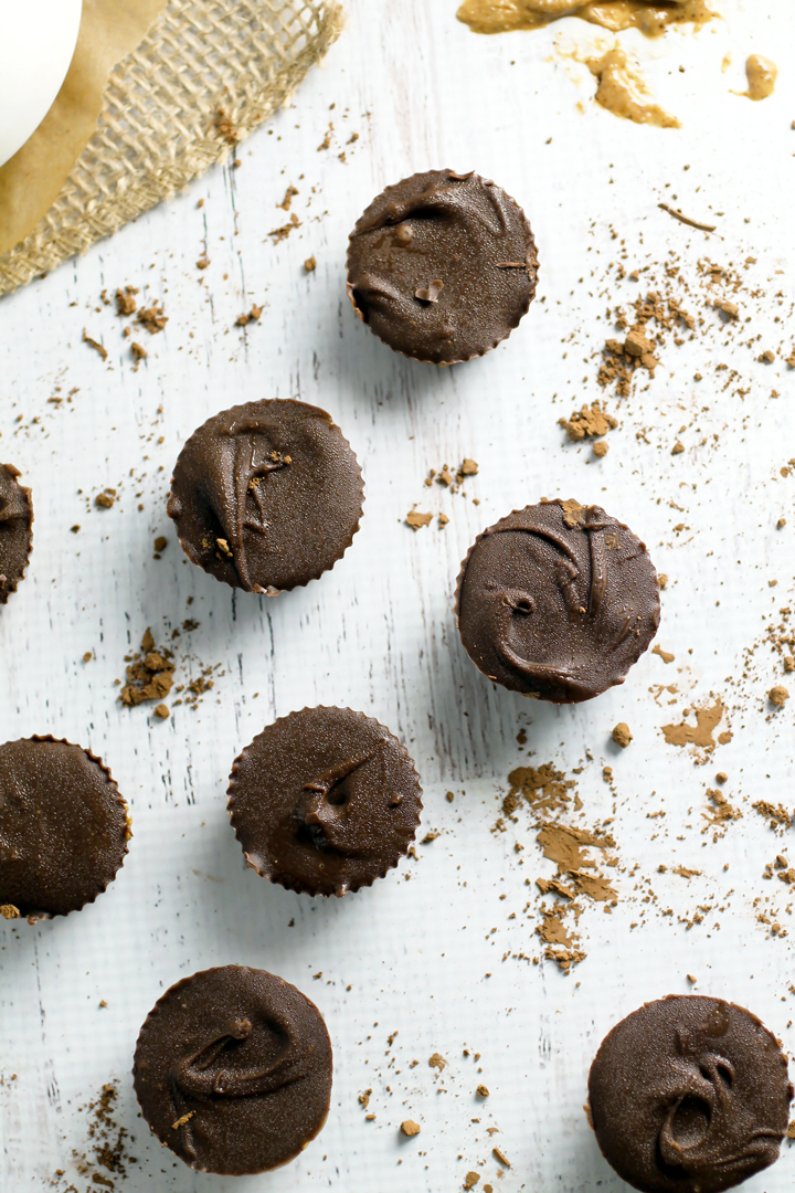 Raw Peanut Butter Cups