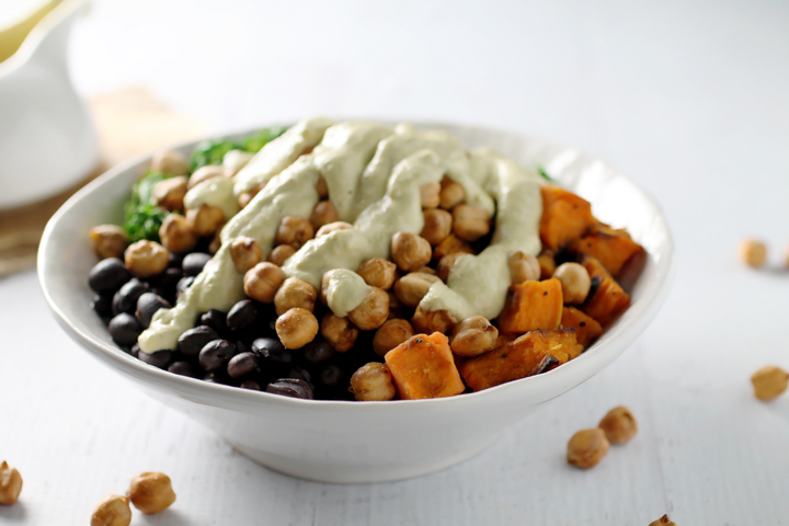 Buddha Bowl with Tahini Dressing