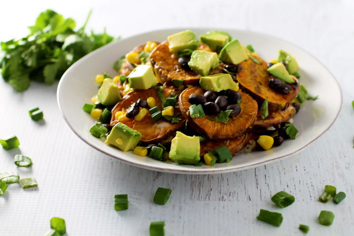 Skinny Sweet Potato Nachos